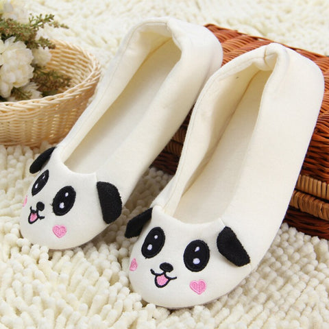 Women Slip On Sneakers Cartoon Style Cute Girl Panda Canvas Slip-on Casual Printing Comfortable Low Top Mens Slip On Sneakers