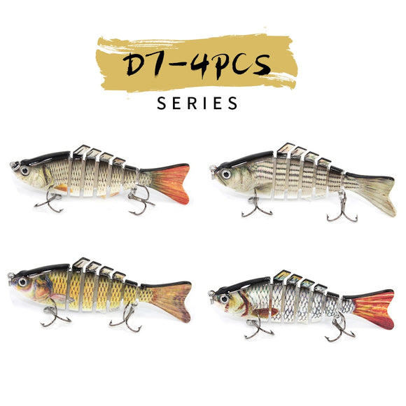 Realistic Fish Tackle Bass Trout More Colorful Black Cotton Flannel FQ