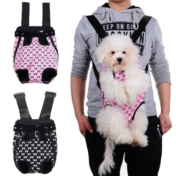 Portable Outdoor Adjustable Pet Carrier Backpack Pet Cat Dog Travel Carrier Legs Out Carrier Backpack