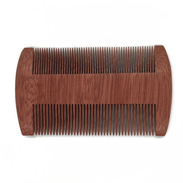Dandruff Comb Natural Wooden Comb Double Fine Tooth Health Tweezers Comb Gift Combs Anti-static Health Care For Girl Women Sale