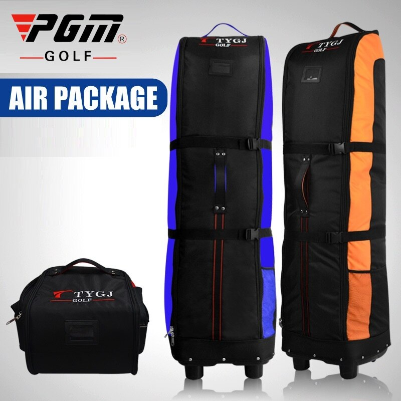 Multifunction Pgm Folding Golf Aviation Bag With Wheels Thicken Aircraft Travel Package Golf Bag +Anti-Dirty Storage D0645