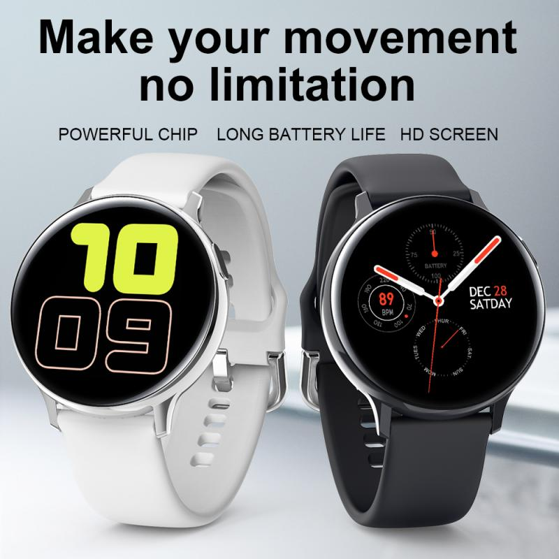 S20 Smart Watches Heart Rate Blood Pressure Oxygen Health Monitor Wristband Sports Watches Smart Band Waterproof Smart Accessory