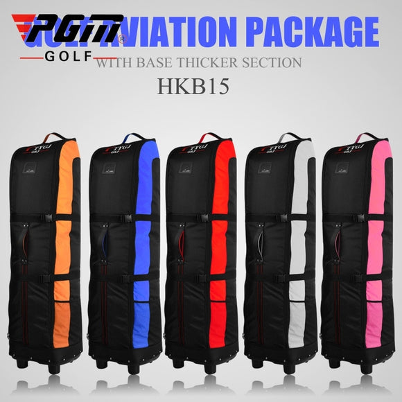 Folding Golf Aviation Bag With Wheels Thicken Aircraft Travel Package Convenient Golf Bag +Anti-Dirty Storage D0645
