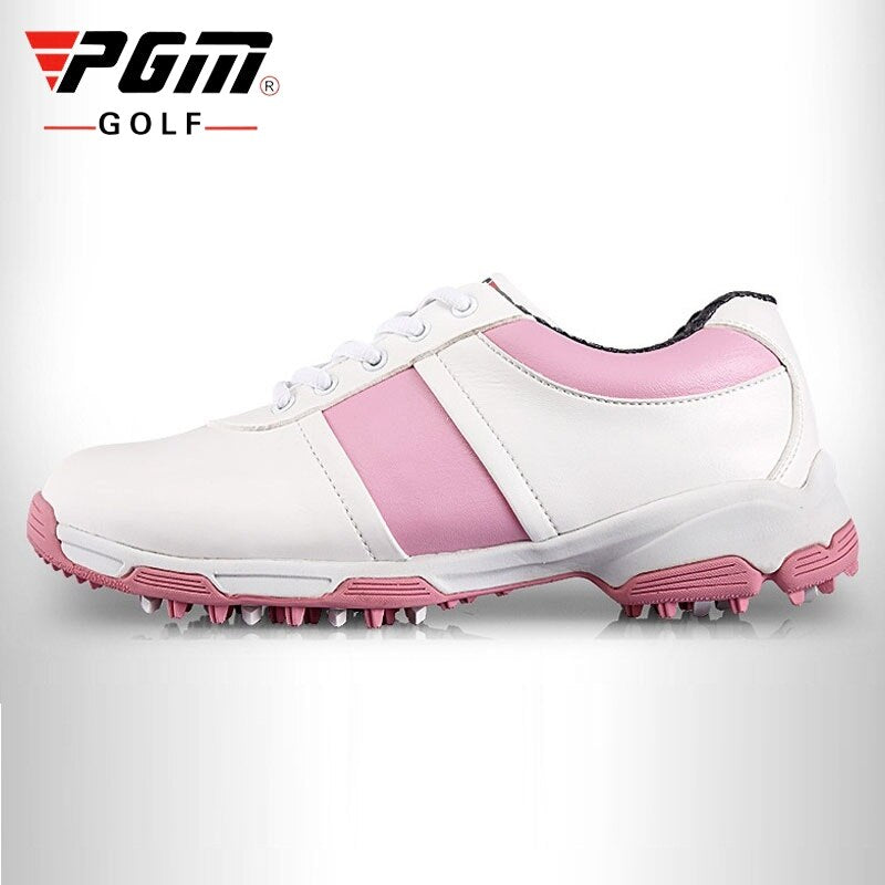 Brand Women Golf Shoes Soft Breathable Professional Sports Sneakers Woman Nail Spikes Anti-Slip Trainers Direct Selling AA51027