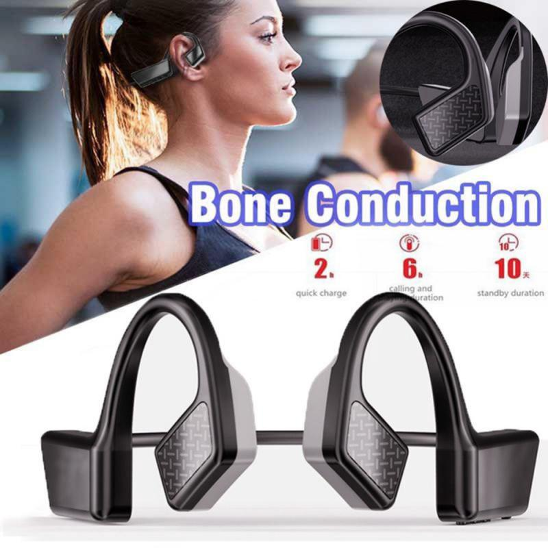 1 Pcs Wireless Bluetooth Earphone Bluetooth 5.0 air Conduction Headsets Sports Earphones Handsfree Headsets Headphones