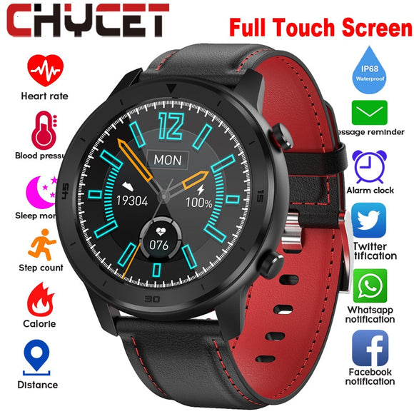 Full touch Round screen Smart Watch Ip68 Band DT78 Smartwatch Men Women Heart Rate Blood Pressure Monitor WhatsApp Push Watch