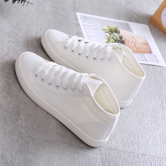 Lady Classic Women and Men Fashion Shoes High-Help Low-Help Canvas Shoes Leisure Cosy Wild Casual Quality Couples Flat Shoes Size 35-42 Color : 5, Size : 36