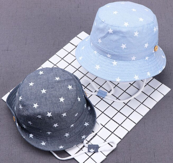 Autumn Fisherman Hat Beach Caps Solid Color Cotton Baby Hats Spring Summer Kids Boys Girls Sun Hats