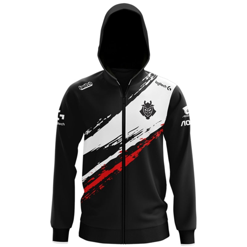 LOL League S9 Season LEC G2 Esports Team Uniform Jersey Wunder Jankos Caps PerkZ Mikyx Hoodie CSGO Game Major Jacket Coat