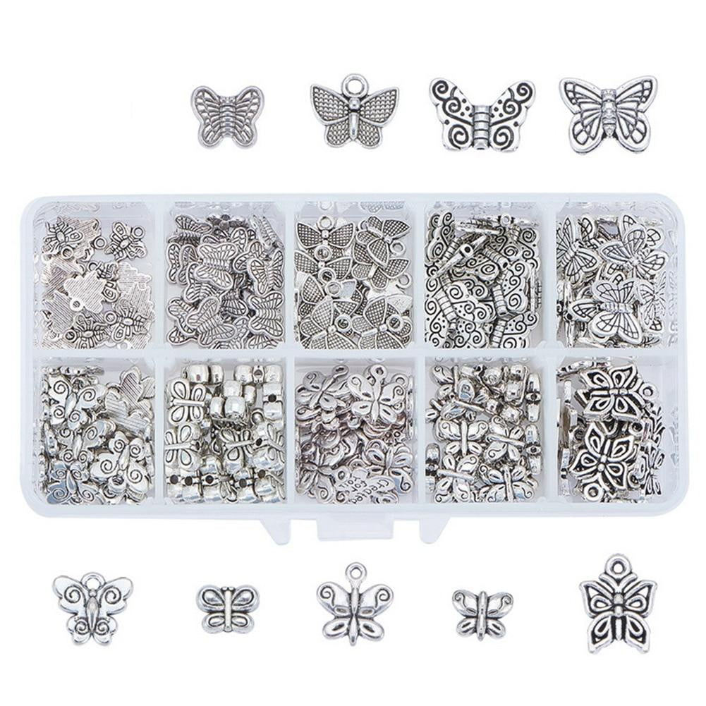 Sterling Silver Jewelry Gripper Beads Solid 4.2 mm 10.5 mm Reflections Antiqued Bali Gripper Bead