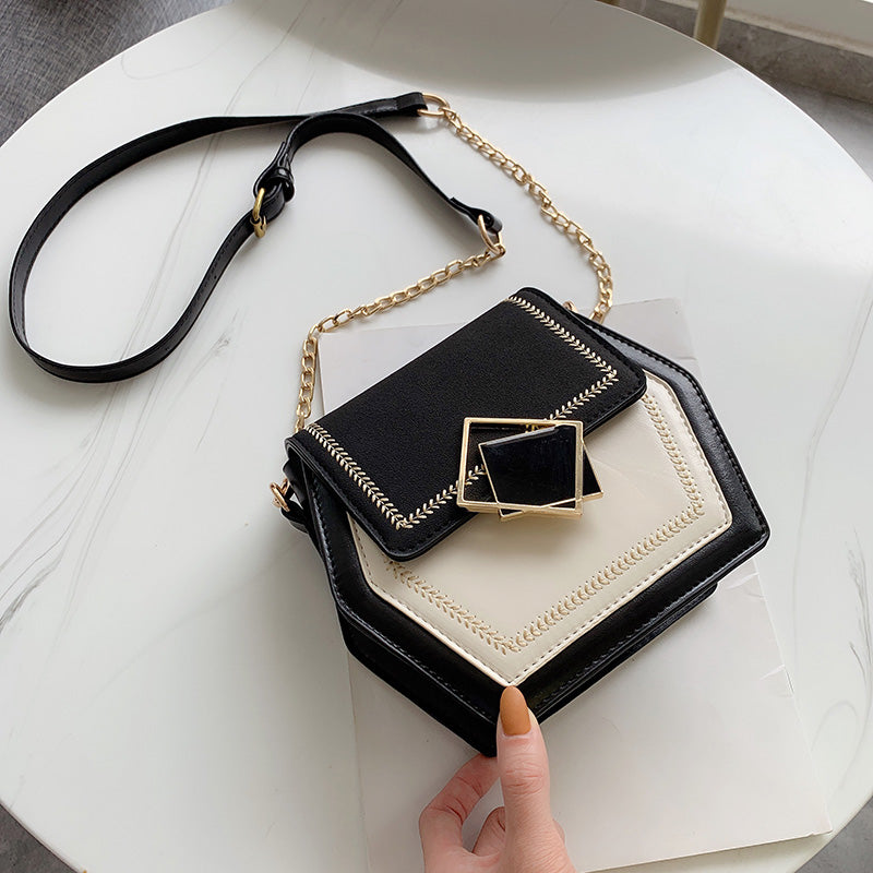 Bags for Women 2019 Small Chain Shoulder Messenger Bag Female Scrub PU Leather CrossbodyTravel Handbags and Purses Evening Bags