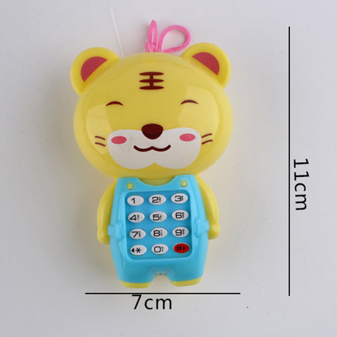 Cartoon Music Phone Baby Toys Educational Learning Toy Phone Gift for Kids Baby