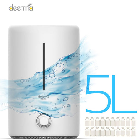 Deerma DEM - F628 5L Air Humidifier Air Purifying For Office Home Household Aroma Essential Oil Diffuser Aromatherapy Mist Maker