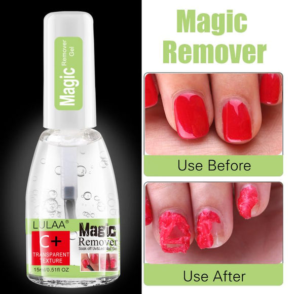 Magic Nail Remover Nail Surface Cleanser UV Gel Nail Polish Sticky Remover Liquid Enhance Shiny Cleanser Nail Art Tool TSLM2