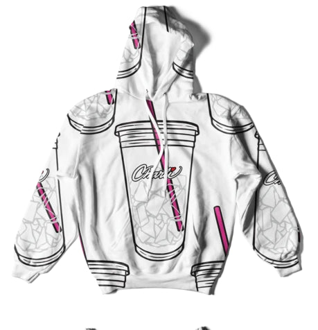 FRDUN TOMMY 3D Ice Coffee Splatter Hoodies Sweatshirts Men and Women hoodie Charli DAmelio Pullover Unisex Costume Tracksuit