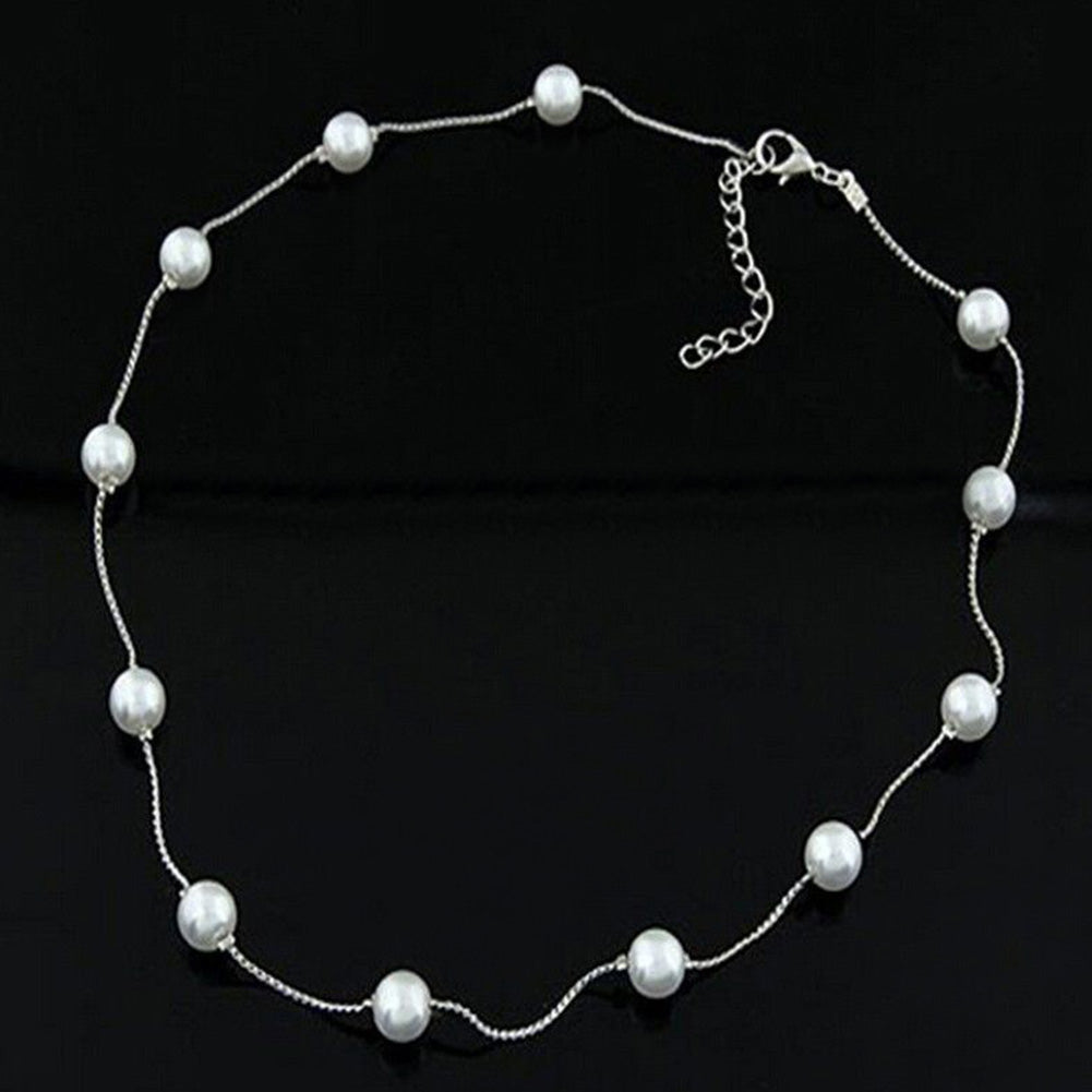 Fishing Tranparent Oval Double Pearl Drill Cross Beads hard Clear beads fishi rS