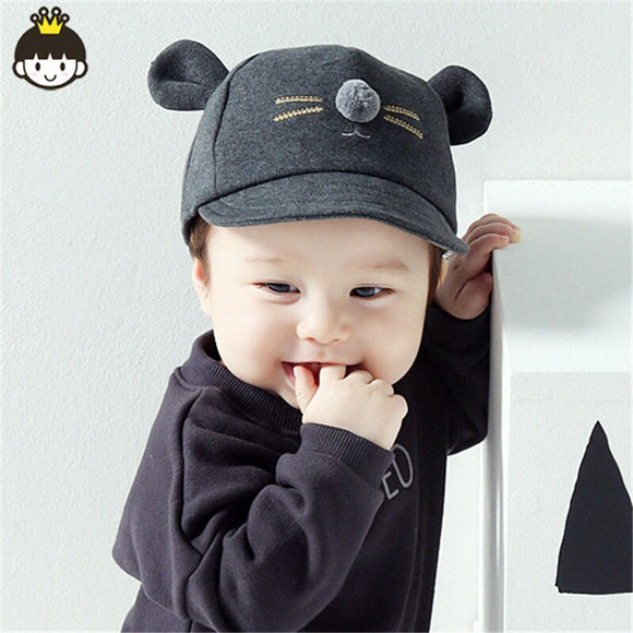 Fashion Baby Girl Boy Hat Newborn Infant Toddler Cap Girl Boy Unisex Cotton Baseball Cap Kids Hat Children Sun Hats