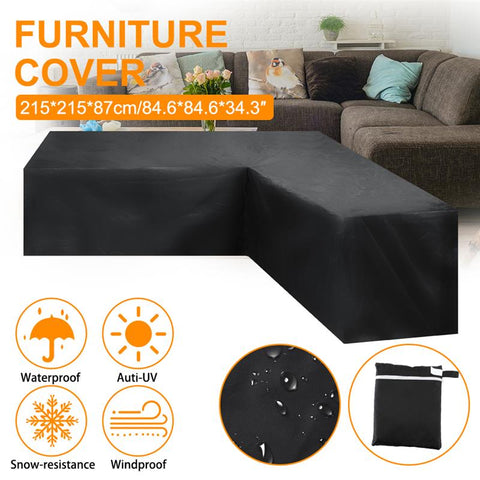 Table Decoration Dustproof Round Shape Furniture Cover Garden Oxford Cloth Patio