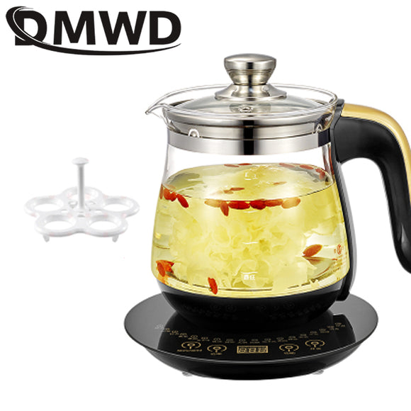 DMWD Multifunction Electric Kattle 1.8L Health Preserving Pot Stew Porridge Slow Cooker Heater Hot Water Heating Insulation EU