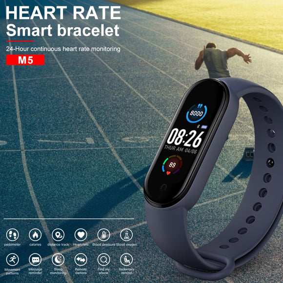 M5 M4 Smart Band Fitness Tracker Smart Watch Sport Smart Bracelet Heart Rate Blood Pressure Smartband Monitor Health Wristband