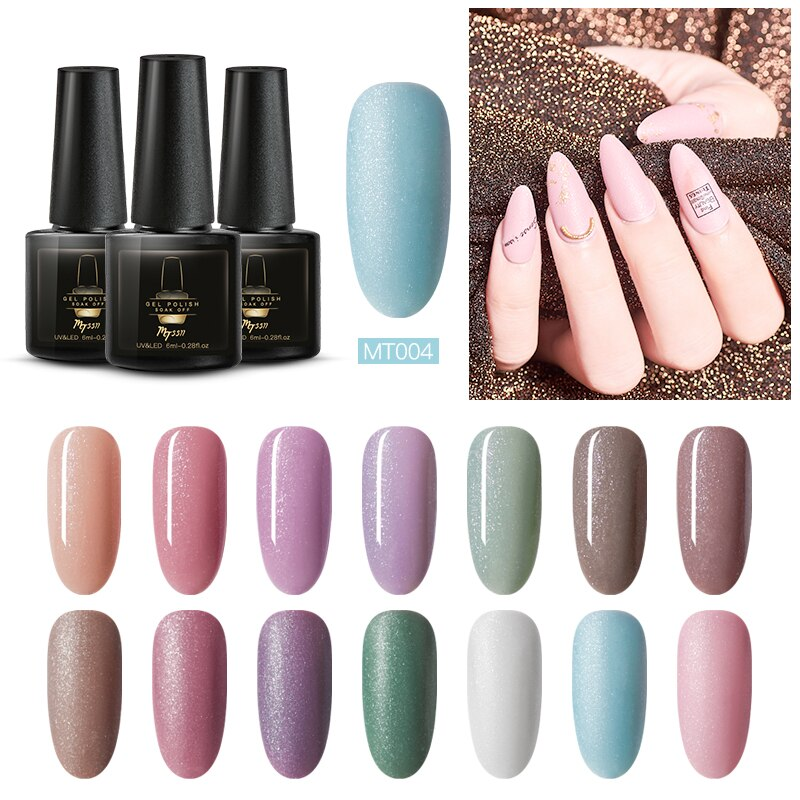 Mtssii Gel Nail Polish Long Lasting Hybrid Nail Gel Lacquer for Sale Esmalte Nails Design Gel Polish