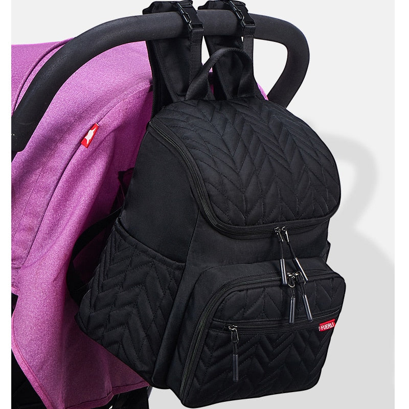 Stylish Baby Bags Multi-function Large Mummy Travel Maternity Nappy Bags Wet/Dry Separation Stroller Baby Diaper Bag Backpack