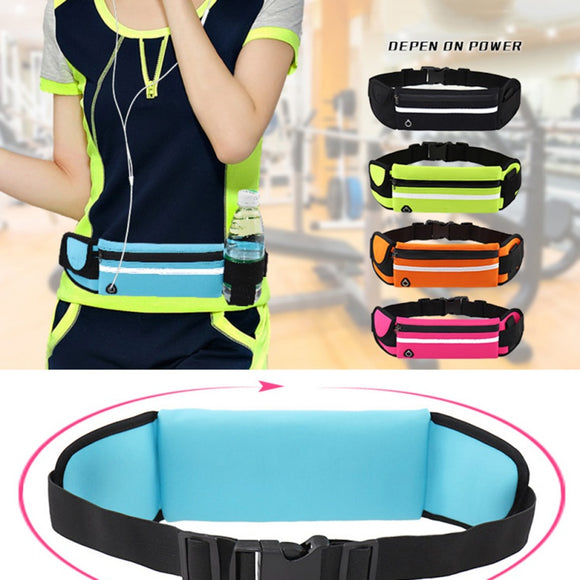 Travel Waist Pack,travel Pocket With Adjustable Belt Pattern Cute Surfer Cat Big Running Lumbar Pack For Travel Outdoor Sports Walking