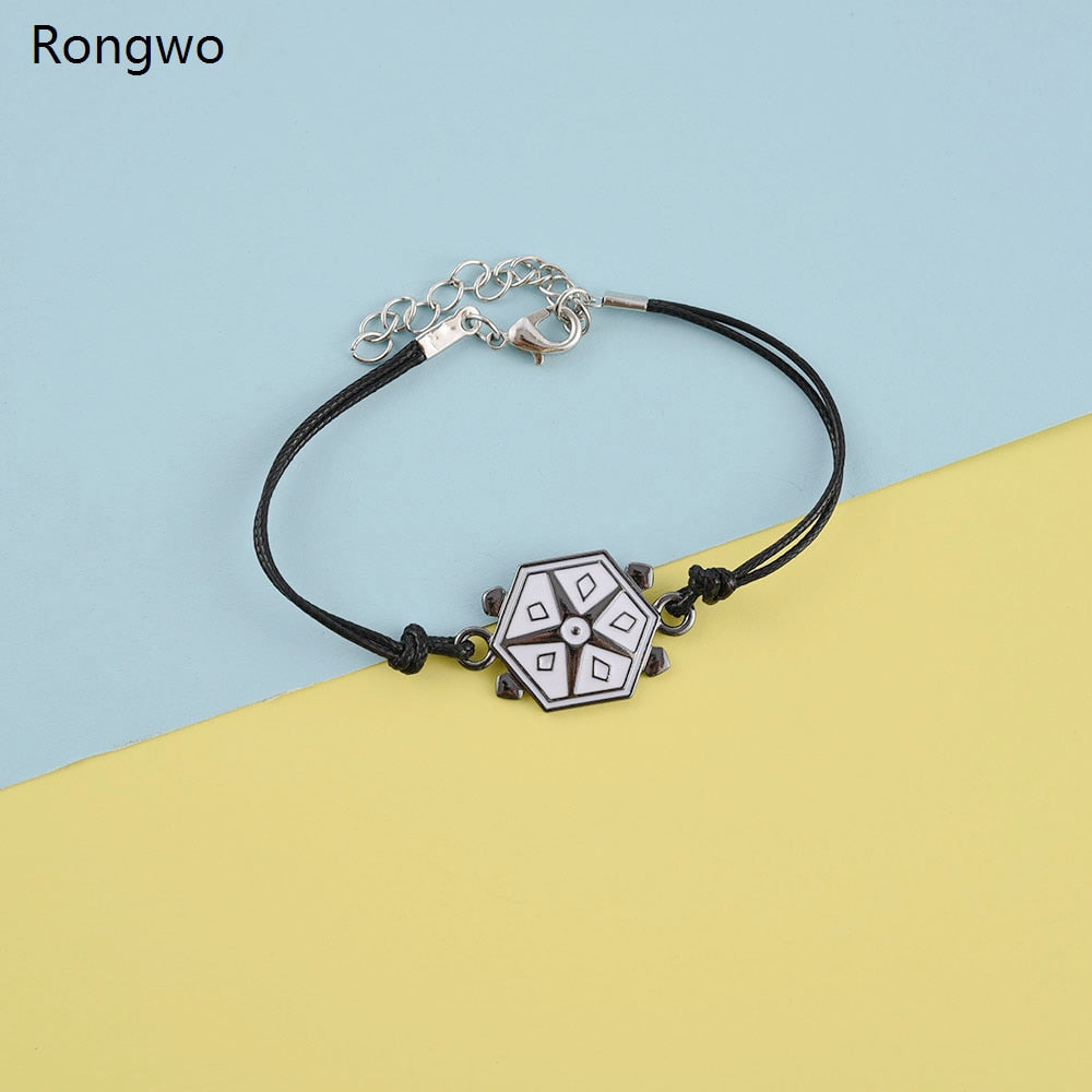 Ladybug Miracle Bracelet Geometric Five-pointed Star Alloy Bracelets Anime Cat Noir Kids Boys Cosplay Jewelry Accessories Box