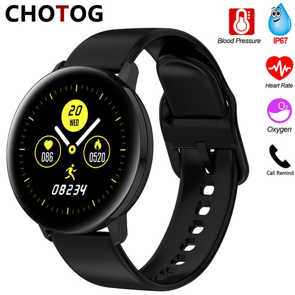 Smart Watch Men Women TD28 Blood Pressure Measurement Smartwatch Waterproof Heart Rate Monitor WhatsApp Reminder For Android IOS
