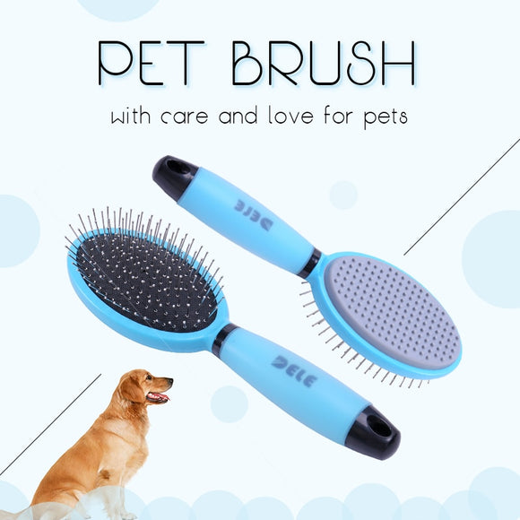 Pet Dog Brush Comb Easy To Use Self Clean Professional Dog Cat Hair Comb Shedding Fur Remover Hair Trimmer Pet Grooming Products