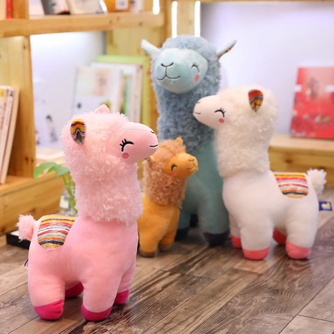 Animal Stuffed Toy Soft Alpaca Unisex Gift Toys Lovely Doll Llama Stylish