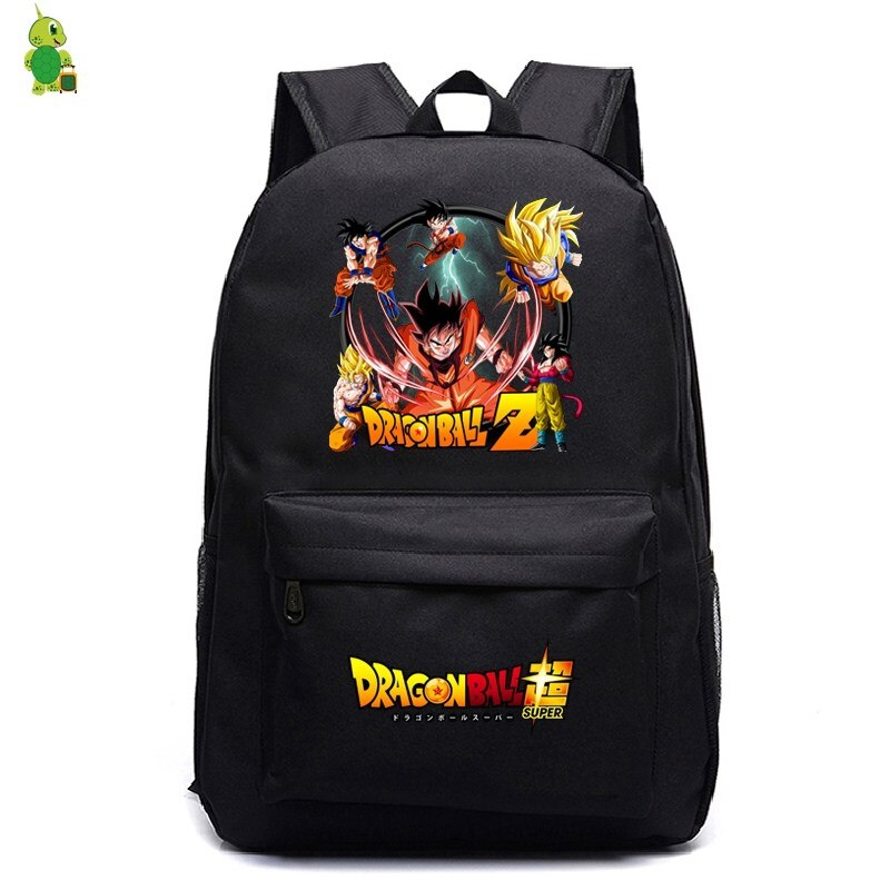 School Bags Dragon Ball Super Backpack for Teenagers Women Men Son Goku Printed Laptop Backpack Kids Book Bags Casual Travel Bag