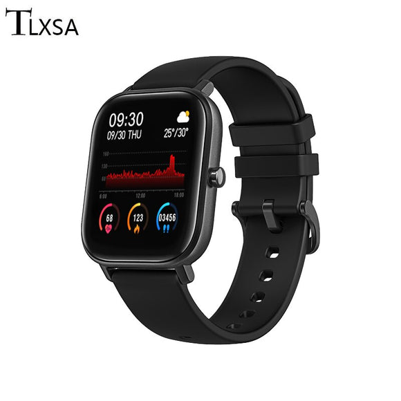 TLXSA 1.4 inch Full Touch Smart Watch Men Fitness Tracker Blood Pressure Monitor Smart Watches IP67 Waterproof For Xiaomi Huawei