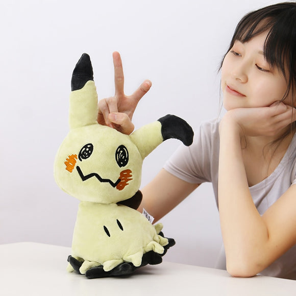35cm Halloween Camping Mimikyu Plush Toys Camping At Night Cute Pikachu Plush Doll Stuffed Toys for Kids Birthday Gift