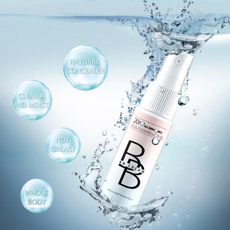 30ml Whitening  BB Cream Spray Women Moisturizing Skin Care BB  Foundation Spray Makeup Portable Beauty Cosmetics tool TSLM1