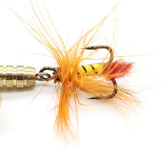 Sequin Spoon Fishing Lures Metal Spinner Feather Crankbait 2g 3g 4g Tac 0U
