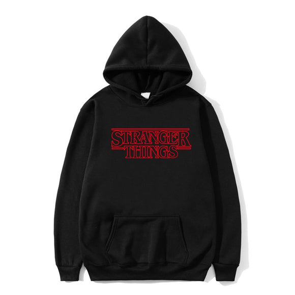 Hip Hop Men Hoodie Stranger Things Hoodies Men Sweatshirt women/men Casual Stranger Thing Sweatshirts Women Hoodie Men's S-2XL