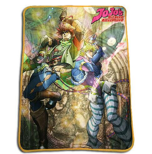 Anime JoJo's Bizarre Adventure Blanket Mat Tapestry Soft Travel Cover Bedspread Beach Towel Mat Blanket Table Towel Cosplay