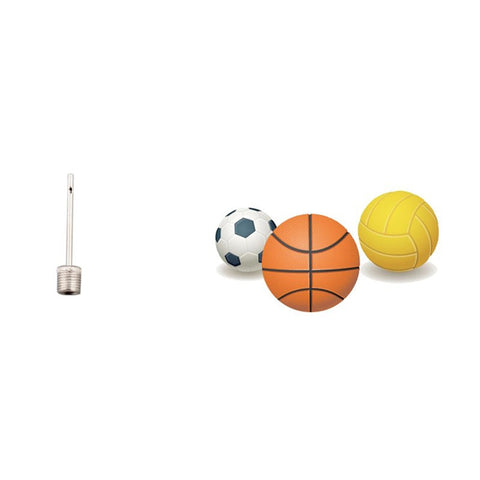 10 pcs Basketball Football Volleyball Toy Ball Inflatable Valve Pump Gas Needle