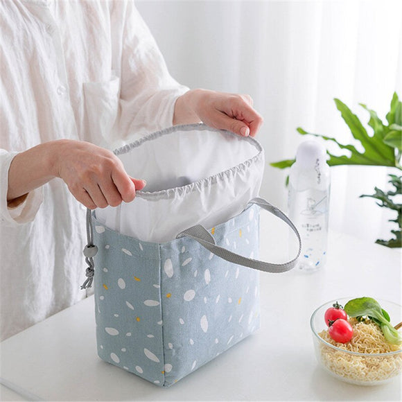 Children Food Storage Bag Insulated Cold Picnic Carry Case Thermal Lunch Box Travel Kids Food Warmer Bag Handbags Wholsale