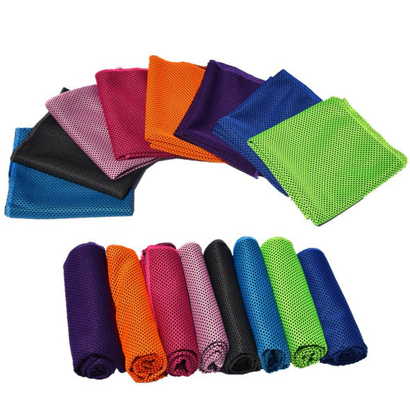 Sport Towel Rapid Cooling Ice Face Towel Quick-Dry Beach Towel Summer Enduring Instant Chill Towels Fitness Yoga Hiking Pilates@