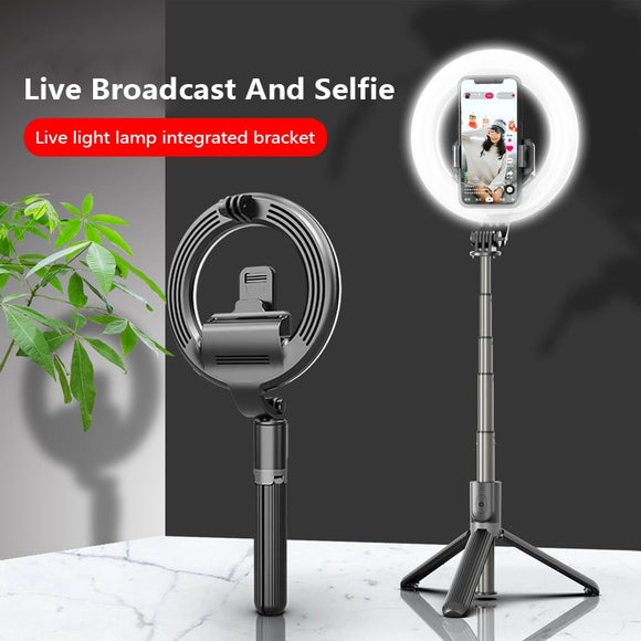 5 Inch LED Light Ring For Selfie Lamp Ring Light Tripod With Lamp Photography Lighting For Youtube Holder Camera Ring Lights