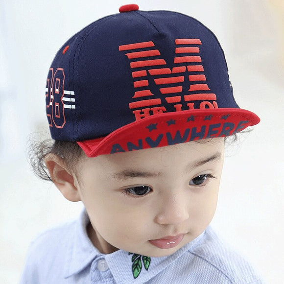 2020 New Season Cotton Children Baseball cap Men And Women Baby Peaked Cap Sunscreen Sunshade Baby Baseball Hat Sun Hat