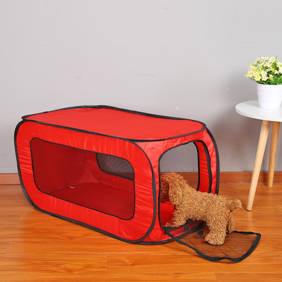 Pet Dog Carrier Cage for Puppy Small Dog Pet Carriers Portable Breathable Cat Cage Breathable Small Dog Travel Bag for Chihuahua