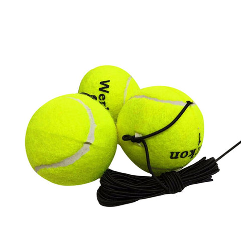 Green Drill Exercise Resiliency Tennis Ball Trainer With String Replacement
