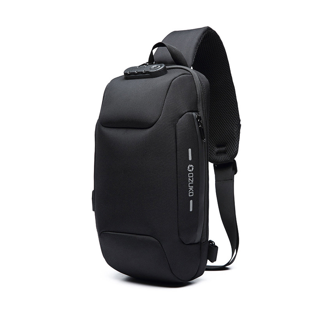 Men bags shoulder crossbody Anti-theft waterproof Messengers Bags Short Trip Chest Bag Pack Large Capacity Oxford Mochila Hombre
