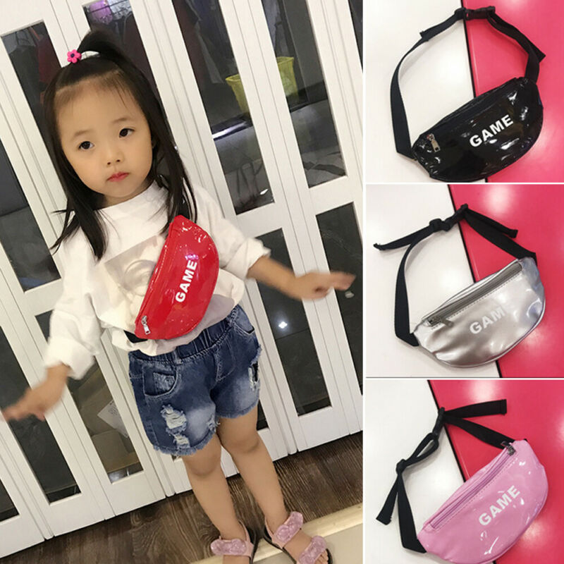 Fashion New Toddler Baby Girls Kids Waist Bag Pack Outdoor Sports Pouch Belt Hip Chest Crossbody Travel Purse