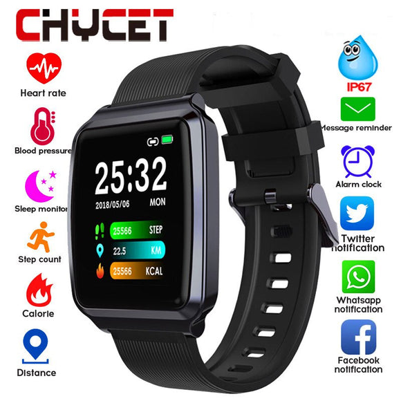 2019 Smart Watch Men Women Touch Color Screen Blood Pressure Smartwatch Women Heart Rate Activity Tracker Watch For Android IOS