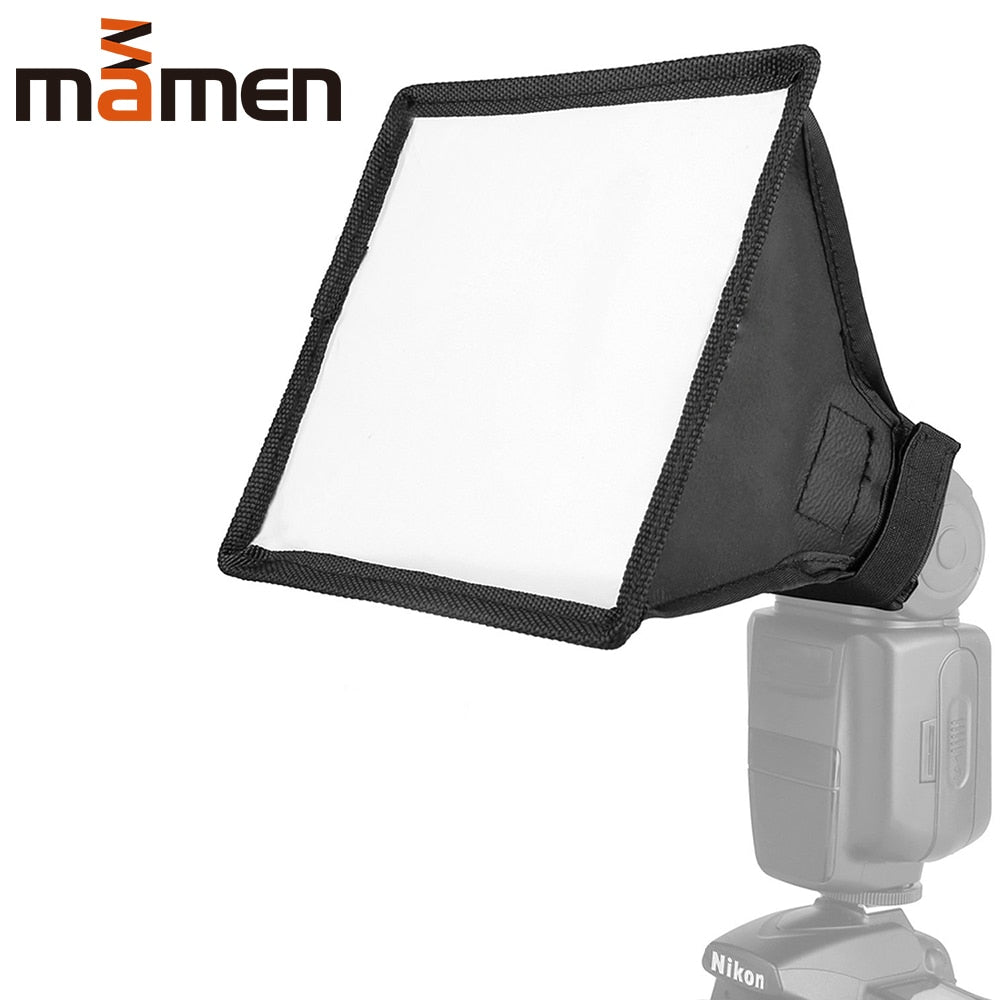 EMVANV Foldable Portable Softbox Easy Install White Flash Diffuser Camera Accessories