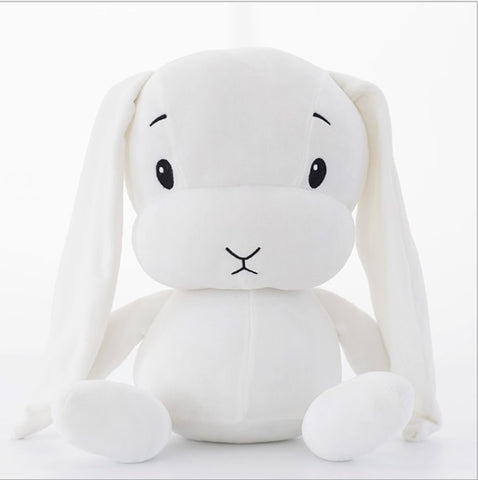 12 or 20 in Plush Rabbit Toy Stuffed Animal Baby Sleeping Cute Soft Bunny Doll